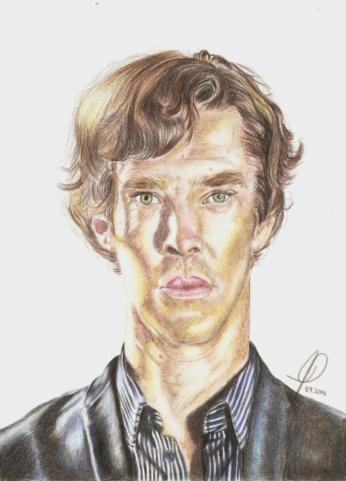 Benedict Cumberbatch por JoanaPires